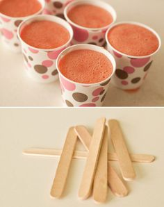 {Healthy After-School Snacks: Homemade Popsicles} *Yum
