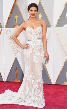 Priyanka Chopra from Oscars 2016: Red Carpet Arrivals  In Zuhair Murad