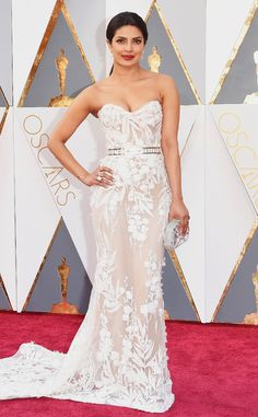 Priyanka Chopra from Oscars 2016: Red Carpet Arrivals In Zuhair Murad
