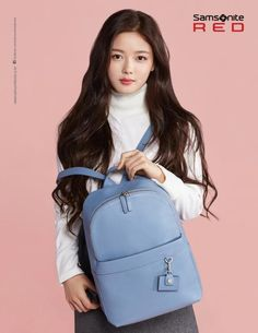Kim Yoo Jung is Lovely and Low-key for Samsonite Red Winter 2016 Campaign