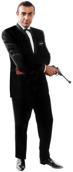 "Sean Connery as James Bond   SEAN CONNERY JAMES BOND 007 LIFESIZE (6'-2"") CARDBOARD STANDUP STANDEE ..."