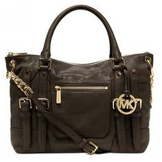 #Share Michael Kors Leigh Large Coffee Satchels $78.99