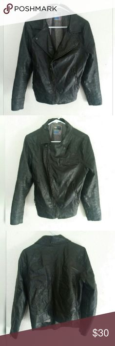 Cool Faux Leather Jacket All prices are negotiable. Modern Amusement Jackets & Coats