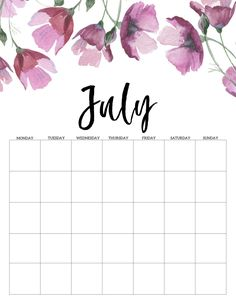 Calendar 2019 Printable, Monthly Calendar Template, Print Calendar, Printable Planner, Planner Stickers, Preschool Arts And Crafts, Diy And Crafts, Planner Pages, Weekly Planner