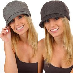 Double Billed Fashion Newsboy Hat
