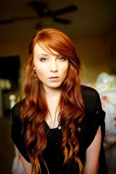 Cooper Red Hair. I wish I could pull off this color