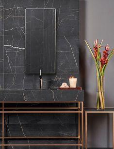 marmore negro - banheiro luxo - Interior Design Lover Blog