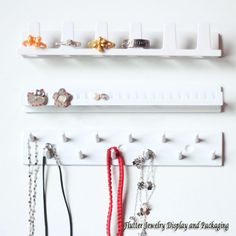 3pcs/set Plastic Jewelry Set Display Rack Jewellry Hanger Ring Holders Necklace Showing Stand Earring Organizer Bracelet Hook-in Jewelry Packaging & Display from Jewelry & Accessories on Aliexpress.com   Alibaba Group