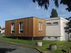 Extension des locaux du bureaux d'étude Arcabois à Lencloître (86) Architecte : Aedificandi