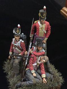 Fuciliere di un rgt. di fanteria inglese, 1815