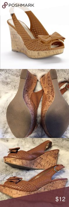 Shoes Apt 9 Tan Wedge APT. 9 Tan Wedge Size 8, Excellent Used Condition. Apt. 9 Shoes Wedges