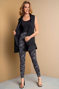 Black And White Leggings, Shapewear, Daily Wear, Sculpting, Soft Light, Fabric, Products, Fashion, High Waist