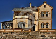 Photo about Kolmanskop ghost town in Namibia. Image of deserted, kolmanskop, desert - 25560330 House On A Hill, Ghost Towns, Stock Photos, Mansions, House Styles, World, Travel, Image, Fotografia