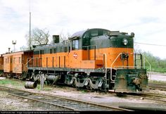 RailPictures.Net Photo: MILW 575 Milwaukee Road Alco RSD-5 at Watertown, Wisconsin by Verne Brummel - www.trainsite.8m.com/rrslides.html