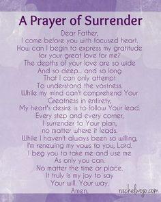Surrender Prayer religious god religious quotes prayer religion religious quote