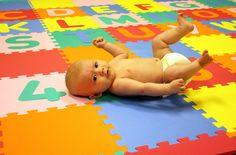 Large Foam ABC-123 Mat - Play mat & soft flooring for children