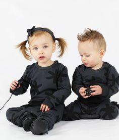 Hip Unisex Monochrome Kids Fashion by OOVY.com.au