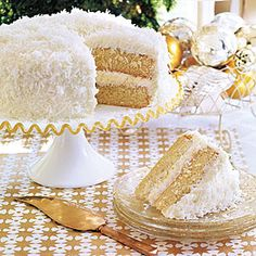 Coconut Layer Cake Recipe | MyRecipes.com Mobile