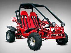 150CC RACE KART GOKART GO-KART 4 WHEELS OFF-ROAD COMPLETE KIT RACING DOUBLE SEAT