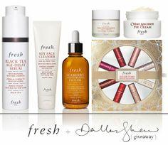 Enter to win Dallas' entire skincare regimen and favorite Fresh gift!