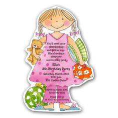 Image detail for -Slumber-Party-Pixie-Invitations-p-73-20403DC-z.jpg