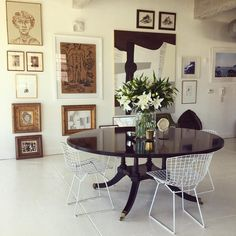 {The Sag Harbor Home of Mona Nerenberg and Lisa Bynon as featured in ELLE DECOR} {Cy Twombly} {Le Catch} {William McLure's Chic Birmingham Loft} {Carolyn Carr} {Goop} {Darryl Carter via. Modern Interior, Home Interior Design, Interior Decorating, Country Interior, Interior Designing, Interior Ideas, Decorating Ideas, Birmingham, Alabama