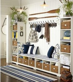 Samantha Entryway Components - contemporary - storage and organization - Pottery Barn