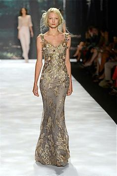 """""""Amalfi Blue"""" will be red-carpet ready with Badgley Mischka!"""