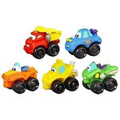 Amazon.com: Tonka Chuck & Friends ATV Fleet: Toys & Games