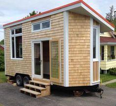 Full Moon Tiny Shelters: The Harmony Tiny House on Wheels ~ A Fully Winterized Tiny Home Built In Nova Scotia.