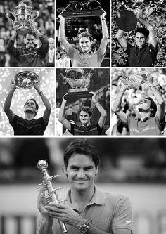 Roger Federer - 7 titles since UO
