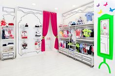 Collect this idea If you live in the city of Valencia and have kids, this project will probably become one of your favorites. The Piccino kids store displays an inspiring and refreshing design that challenges browsing for cute little clothes and gives shopping another meaning in the mind of your young ones. Inspired by the …