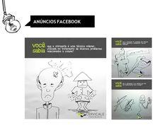Anúncios para fanpage. Cliente: Cervicale   #facebook #anúncios #arte #ilustração