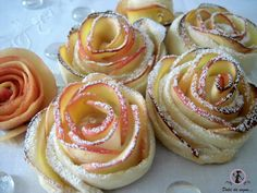 rose di mela e pasta brisè