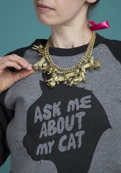 3 Amazingly Fun DIYs You Can Do with This Bag O' Cats - Story by ModCloth