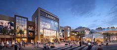 Dalma Mall on Behance Conceptual Design Architecture, Retail Architecture, Futuristic Architecture, Restaurant Exterior Design, Luxury Restaurant, Shopping Mall Interior, Shopping Malls, Mall Facade, Strip Mall