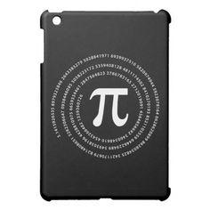 Pi Number Design iPad Mini Case