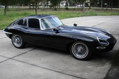 Dad's 1966 Jaguar E-Type Coupe Project