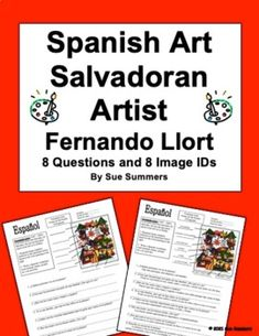 Spanish Art - El Salvador Artist Fernando Llort 8 Questions and 8 Image IDs Spanish Art, Learning Spanish, Language, Teacher, This Or That Questions, Artist, Image, El Salvador, Learn Spanish