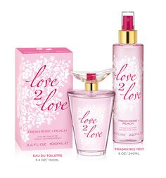 FRESH ROSE + PEACH: A floral fragrance that evokes the feeling of lasting happiness and captures the optimism of love