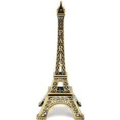 FCarolyn Paris Eiffel Tower Craft Art Statue Model Figurine... (980 RSD) ❤ liked on Polyvore featuring home, home decor, bronze statues, eiffel tower centerpieces, bronze statuary, eiffel tower home decor and paris eiffel tower centerpiece