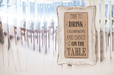 Time to drink Champagne and dance on the table | Stones Events