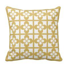 Mustard Pillows, Mustard Throw Pillows