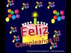 Feliz Cumpleaños Videos - Page 3 Happy Birthday Video, Happy Birthday Images, Happy Birthday Cards, Birthday Wishes, Happy Brithday, Birthday Cupcakes, My Favorite Music, Birthday Candles, Birthdays