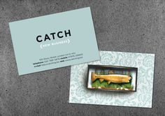Business card design for CATCH (London)