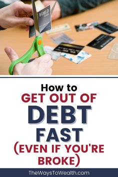 Looking at how to get out of debt fast? Want to be debt free as soon as possible, even if you're living paycheck to paycheck? Follow this science backed plan for getting out of debt as fast and as cheap as possible, even if you're broke. #debt #debtfree #getoutofdebt #payoffdebt Financial Tips, Financial Planning, Saving Ideas, Money Saving Tips, Money Plan, Planning Budget, Get Out Of Debt, Savings Plan, Managing Your Money