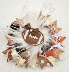Football+Boutique+Hair+Bow+by+KenaBows+on+Etsy,+$10.95