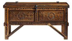 Millicent Rogers Chest: Southwest Furniture, Santa Fe Style: Southwest Spanish Craftsmen