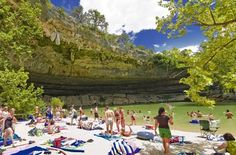 Spicewood Springs, Colorado Bend State Park                     15 Best Swimming Holes in the Texas Hill Country