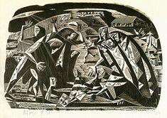 [Assombramento], 1947 | Lívio Abramo